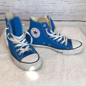 Converse all star chuck Taylor blue high tops